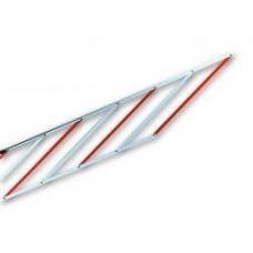 Алюминиевая шторка-решетка под стрелу шлагбаума Nice WA13