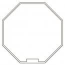 Адаптер для октогонального вала 40*0,6-0,8mm для приводов S