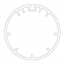 Адаптер для круглого вала 47 мм (внутренний радиус) 515.25004