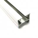Карниз - алюминиевый профиль, длиной 5,7 м, цвет белый CN-CT75010350KIT10