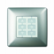 Корпус Opla квадратный алюминий NICE WSA