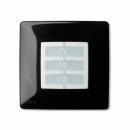 Корпус Opla квадратный черный NICE WSB