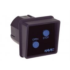 Выключатель клавишный (одна кнопка) FAAC SWITCH