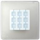 Корпус Opla квадратный прозрачный NICE WST