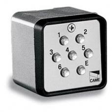 Клавиатура кодовая 7-кнопочная / накладная CAME 001S7000