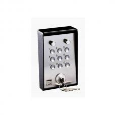 Клавиатура кодовая 9-кнопочная / накладная с ключом и подсветкой CAME 001S5000