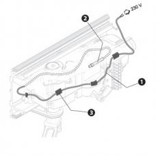 Нагревательный кабель со встроенным термостатом CAME 001PSRT02