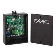 Внешний радиоприемник, 2-х канальный FAAC XR2 433